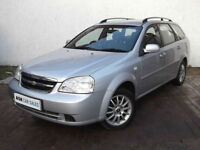 CHEVROLET LACETTI 1.6 SX ESTATE, MAY 2017 MOT, ONLY 72k MILES