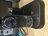 EUC Nespresso Espresso Machine with built in Hot/Cold Frother
