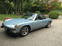 1974 Porsche 914 2.0L Air Cooled fully restored' Convertible