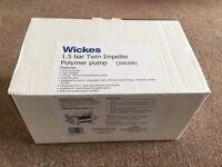 Wickes 1.5 bar twin shower pump