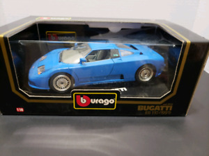 BUGATTI EB 110 (1991) 1:18 SCALE DIE CAST CAR