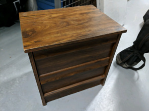 Bedside table / night stand with drawers