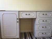 2 bedside tables and make up table