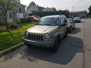 Jeep Liberty Trail Rated 2007 4x4 125km Air Clim Pneus d'hiver