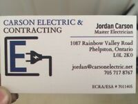 Carson Electric * CERTIFIED CONTRACTOR*