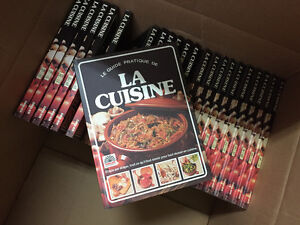 Cooking book recipes like new in French language