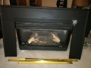Almost new Napoleon Gas Fireplace!