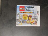 Nintendo 3DS Lego City Undercover The Chase Begins game
