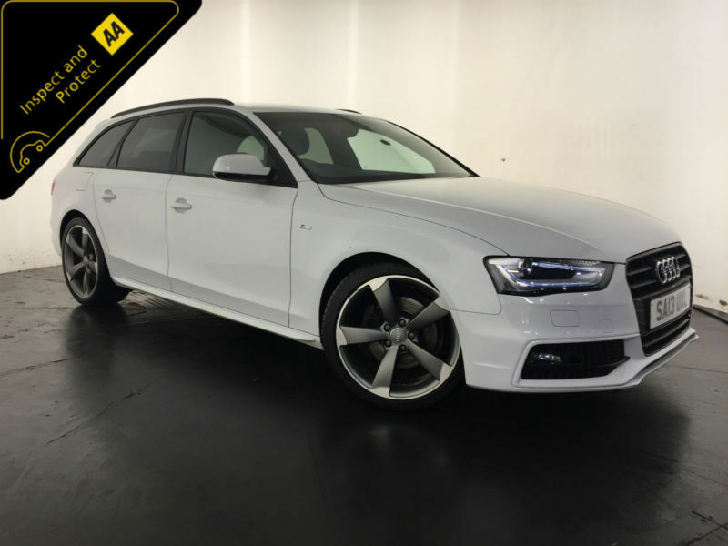 black audi a4 2013. 2013 audi a4 s line black edition tdi estate 1 owner service history finance px black audi