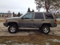 97 Jeep Grand Cherokee new 4inch lift kit