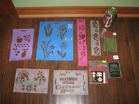 STENCILS / EMBOSSING ITEMS - REDUCED!!!!!