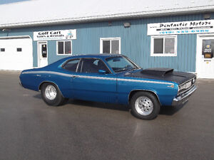 1971 DUSTER, PRO STREET,DANA,SET UP FOR BIG BLOCK !!