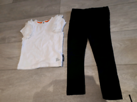 FREE Girl top/trousers Baby K + Mothercare