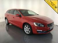 2014 VOLVO V60 SE LUX NAV D3 DIESEL AUTOMATIC 1 OWNER SERVICE HISTORY FINANCE PX