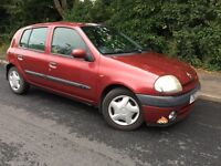 AUTOMATIC RENAULT CLIO - ONLY 52,000 MILES - CLEAN - RELIABLE - SERVICE HISTORY