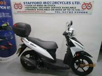 SUZUKI UK110 ADDRESS. ONLY 3935 MILES. STAFFORD MOTORCYCLES LIMITED
