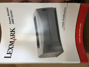 Lexmark Forms Printer 2400 Series NEW