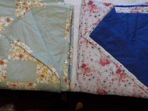 10 brand new Homemade Queen size Quilts/Blankets some with Shams