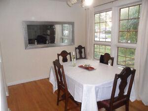three bedroom main floor for rent Aurora