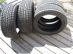 245 45 18 - Snow Tires - Yokohama Ice Guard x 4 Cambridge Kitchener Area image 5