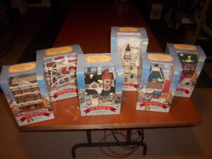 Noma Brand Dickensville Christmas Collectables