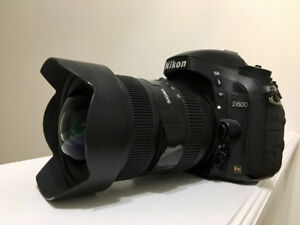 Nikon D600 Full frame body in good condition