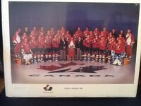 1996 NHL team Canada picture - limited editioN