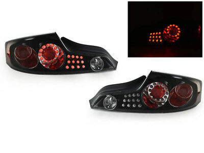 DEPO JDM Black OE Replacement LED Tail Light For 2003-2005 Infiniti G35 2D (Jdm Black Housing Led)