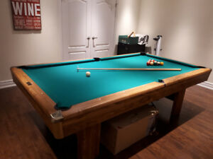8x4 Pool Table with accessories