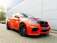 "2010 Reg BMW X6M 4.4 X6 M + HAMANN Tycoon Evo Body Styling+ TVs DVDs + 23"" ALLOY"