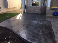 LION HEART CONT. OFFERS  SUPERB CONCRETE WORK( GARAGE ,DRIVEWAY)