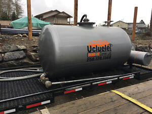 Roll Off Sewer Tank