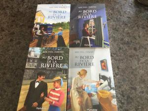 Saga de 4 volumes : Au bord de la rivière