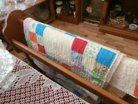 Handstitched Quilts and Quilt Stands at KeepSakes Antiques