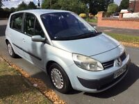 RENAULT SCENIC EXPRESSION 16V 12 MONTHS MOT IMMACULATE