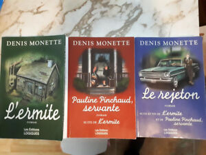 Trilogie de Denis Monette