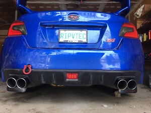 "2015 Subaru STI Turbo XS 3"" catback exhaust"
