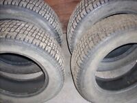 14 INCH COOPER STUDDED WINTER TIRES