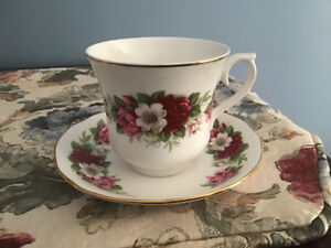 Queen Anne china cup and saucer