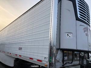 2012 Vanguard Reefer Carrier Transport Trailer 53'