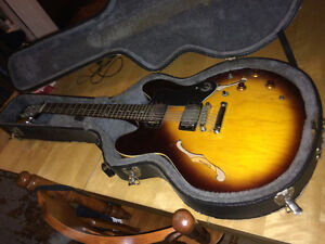 Used Epiphone ES 335 Dot VS with hard shell case   (Downtown)