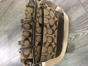 Coach diaper bag.