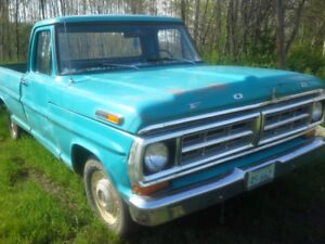 1972 FORD F100 PICKUP--GREAT RESTORATION PROJECT