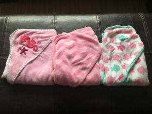 Baby/toddler bath towels