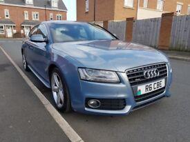 Audi A5 S line 2.0 TDI 170PS (blue) 2011