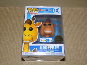 FUNKO, POP, TOYS R US GEOFFREY, AD ICONS #12, VINYL FIGURE, NM