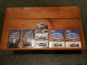 Hot Wheels Specialty Cars and Sets DC,NHRA,Boulevard.Nose Art