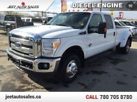 "2012 Ford F-350 Super Duty XLT 4x4 8"" Long Bed Dually DIESEL  Edmonton Edmonton Area Preview"