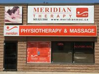 Physiotherapist, Massage therapist, PTA/receptionist in Oakville