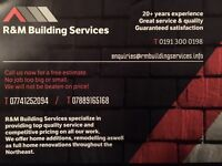 R&M building services northeast